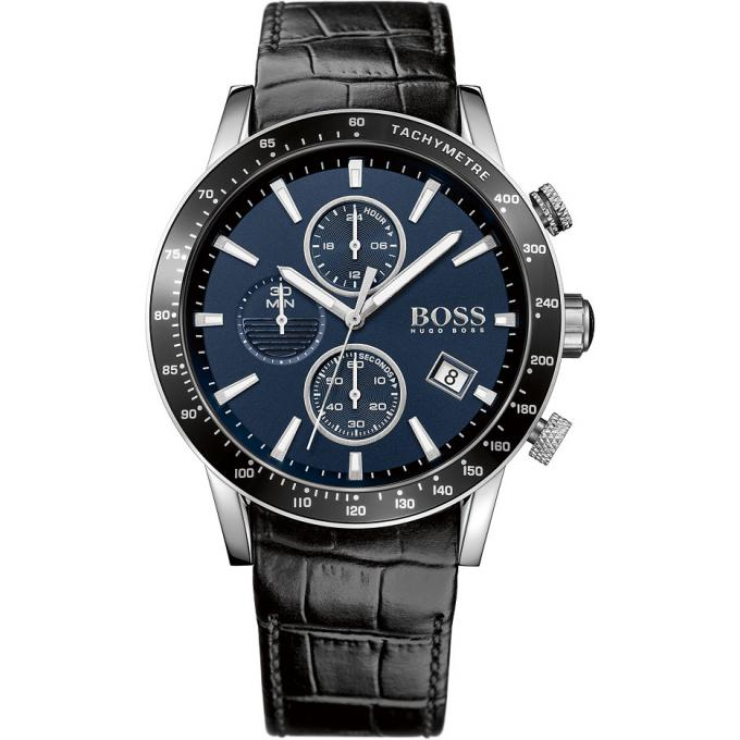 montre boss rafale 1513391 montre chronographe cuir homme sur bijourama montre homme pas. Black Bedroom Furniture Sets. Home Design Ideas