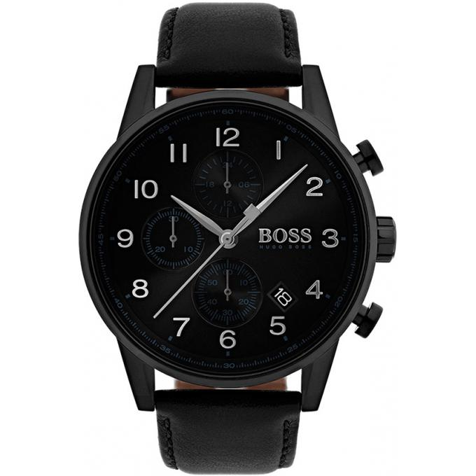 montre hugo boss 1513497 montre chronographe noir homme sur bijourama montre homme pas cher. Black Bedroom Furniture Sets. Home Design Ideas