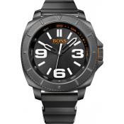 Montre Hugo Boss Orange Multifonctions Noire 1513106 - Promos