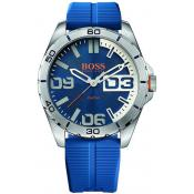 Montre BOSS ORANGE BERLIN 1513286 - Montre Silicone Bleue Homme