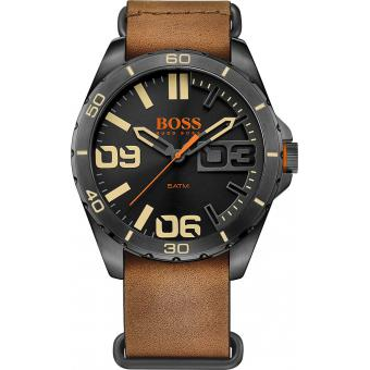 Montre BOSS ORANGE BERLIN 1513316 - Montre Marron Cuir Homme