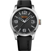 Montre BOSS ORANGE PARIS 1513350 - Montre Noire Quartz Homme