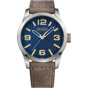 Montre BOSS ORANGE PARIS 1513352 - Montre Marron Acier Homme