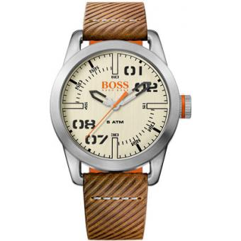 Montre BOSS ORANGE OSLO 1513418 - Montre Quartz Marron Homme