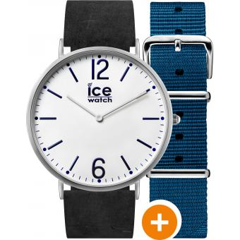 Montre Ice Watch Ice City CHL.B.FIN.41.N.15 - Montre Bicolore Slim Homme