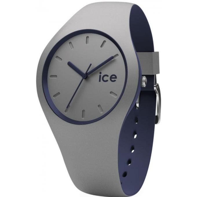 montre ice watch ice duo 012974 montre taille m silicone grise bleue femme sur bijourama. Black Bedroom Furniture Sets. Home Design Ideas