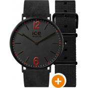 Montre Ice Watch Noire Extraplate CHL.B.RED.36.N.15 - Ice Watch