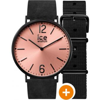 Montre Ice Watch Ice City CHL.B.SHA.36.N.15 - Montre Rose Extraplat Femme
