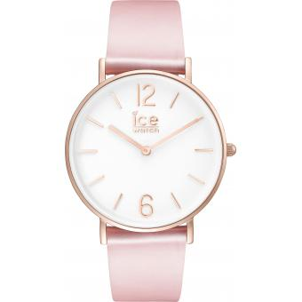 Montre Ice Watch City Tanner CT.PRG.36.L.16 - Montre Cuir Rose Femme