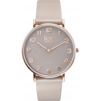 Montre Ice Watch City Tanner CT.TRG.36.L.16 - Montre Cuir Taupe Femme