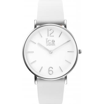 Montre Ice Watch City Tanner CT.WSR.36.L.16 - Montre Blanche Argent Femme