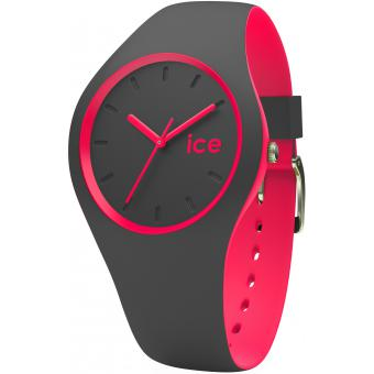 Montre Ice Watch DUO.APK.U.S.16 - Montre Silicone Antharcite Femme