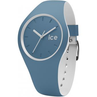 Montre Ice Watch DUO.BLU.U.S.16 - Montre Blanc Silicone Femme