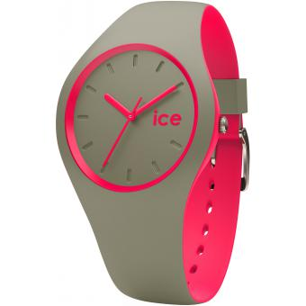 Montre Ice Watch DUO.KPK.U.S.16 - Montre Rose Caoutchouc Femme