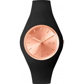 Montre Ice Watch Ice-Chic ICE.CC.BRG.U.S.15 - Montre Noire Silicone Femme