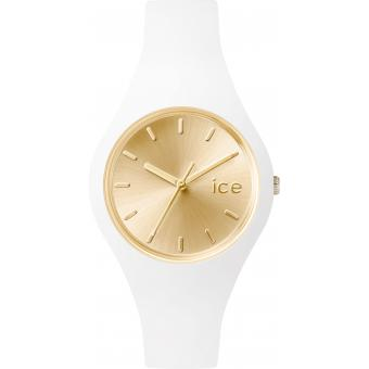 Montre Ice Watch Ice-Chic ICE.CC.WGD.S.S.15 - Montre Silicone Blanche Femme