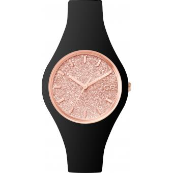 Montre Ice Watch Ice-Glitter ICE.GT.BRG.S.S.15 - Montre Rose Noire Femme