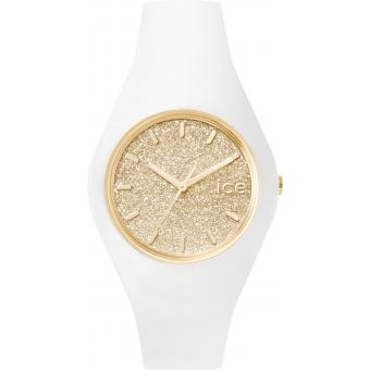 Montre Ice Watch Ice-Glitter ICE.GT.WGD.U.S.15 - Montre Or Blanche Femme