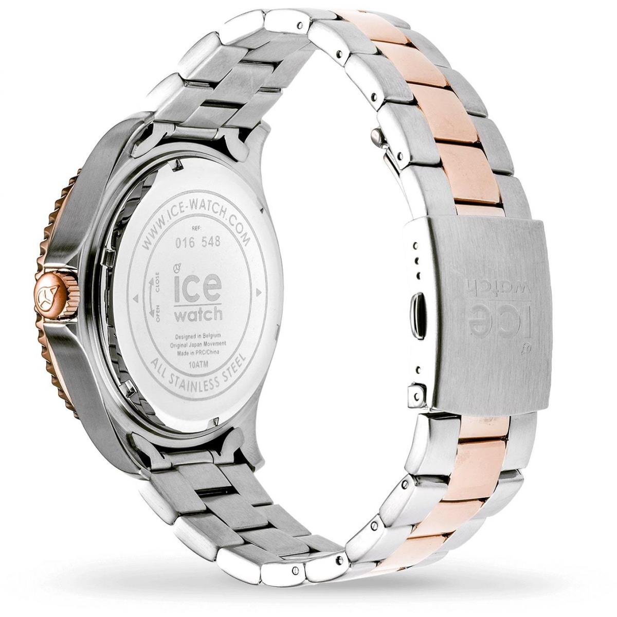 ICE steel - Chic silver rose-gold - Large - 3H
