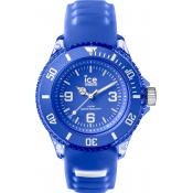 Montre Ice Watch AQ.AMP.S.S.15 - Montre Bleue Silicone Homme