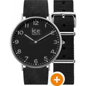 Montre Ice Watch Cuir Noire CHL.A.BAR.41.N.15