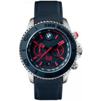 Montre Ice Watch BM.CH.BRD.B.L.14 - Montre Dateur Bleue Homme