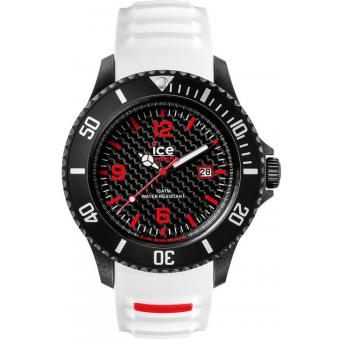 Montre Ice Watch CA.3H.WE.B.S.15 - Montre Carbone Bicolore Homme
