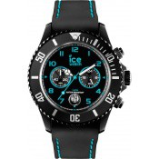 Montre Ice Watch Chrono Drift Noir Turquoise CH.BTE.B.S.14