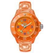 Montre Ice Watch Ronde Orange HA.NOE.M.U.15