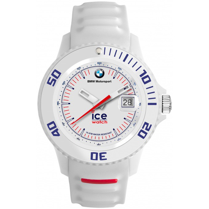montre ice watch ice bmw motorsport bm si we u montre silicone dateur blanche logo bmw. Black Bedroom Furniture Sets. Home Design Ideas