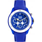 Montre Ice Watch Ice Dune 14218 - Montre Chronographe Silicone Bleu Homme
