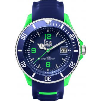 Montre Ice Watch SR.3H.BGN.BB.S.15 - Montre Bleue Dateur Homme