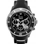 Montre Ice Watch SR.CH.BKW.BB.S.15 - Montre Ronde Chronographe Homme