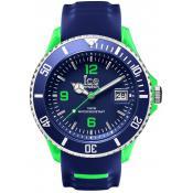 Montre Ice Watch Bleue Dateur SR.3H.BGN.BB.S.15