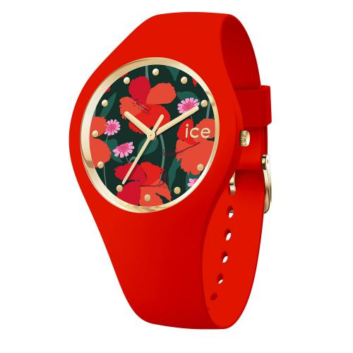 Ice Watch - Montre Ice Watch 017576 - Montre Rouge Femme