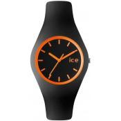 Montre Ice Watch Noire Aiguilles Oranges ICE.CY.OE.U.S.13