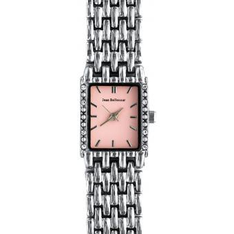 Montre Jean Bellecour Comtesse REDS24-SP - Montre Rose Zircons Femme