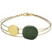 Bracelet Joid'Art Acier Or Noir F2944PO163200