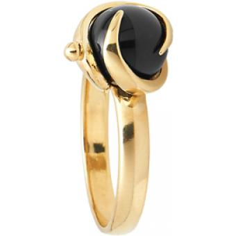Bague Jourdan BR235ON - Bague Or onyx Femme
