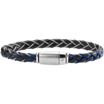 Bracelet Cuir Metal - Jourdan Bijoux - Jourdan