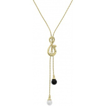Collier et pendentif Jourdan JS322 - Collier et pendentif Laiton Perles Doré Femme