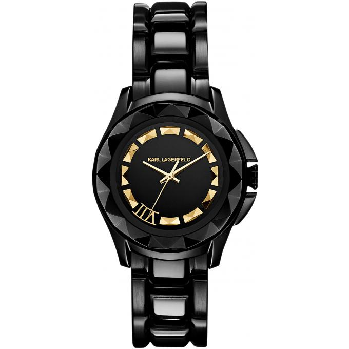 montre karl lagerfeld seven kl1006 montre noire acier femme sur bijourama n 1 de la montre. Black Bedroom Furniture Sets. Home Design Ideas