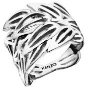 Bague Kenzo Bijoux Feuilles Argentées 702634711000-50