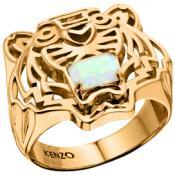 Bague Kenzo Bijoux Opale Blanc 702638301080-50 - Kenzo Bijoux