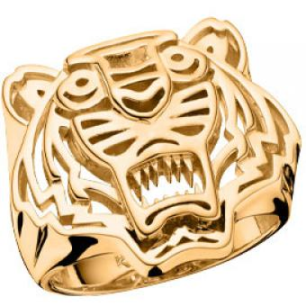 Bague Kenzo Structured Tiger 702914101000