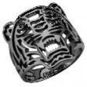 Bague Kenzo Bijoux Tigre Noir 701752233000