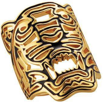 Bague Tigre Dorée - Kenzo - Kenzo