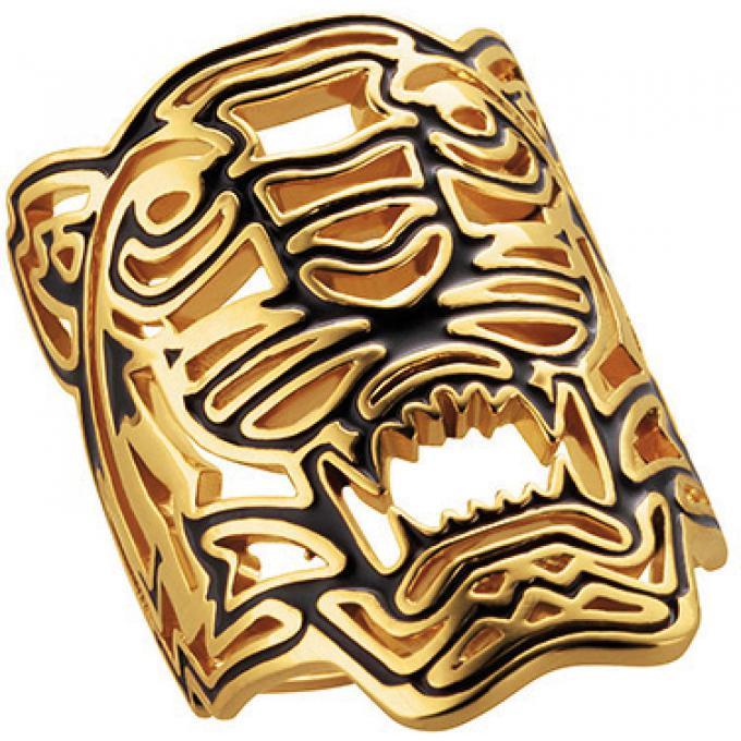 Bague Kenzo 702165501150 - Bague Tigre Dorée Femme