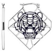 Boucles d'oreilles Kenzo Tiger Lace 70263811131000