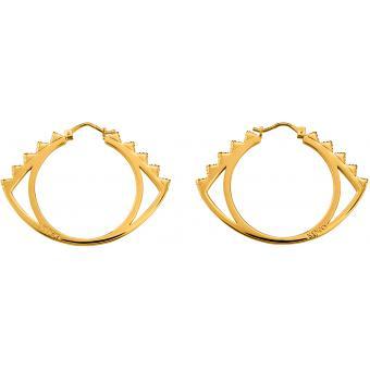 Boucles d'oreilles Kenzo 70238420108000 - Boucles d'oreilles Oeil Dorées - Kenzo